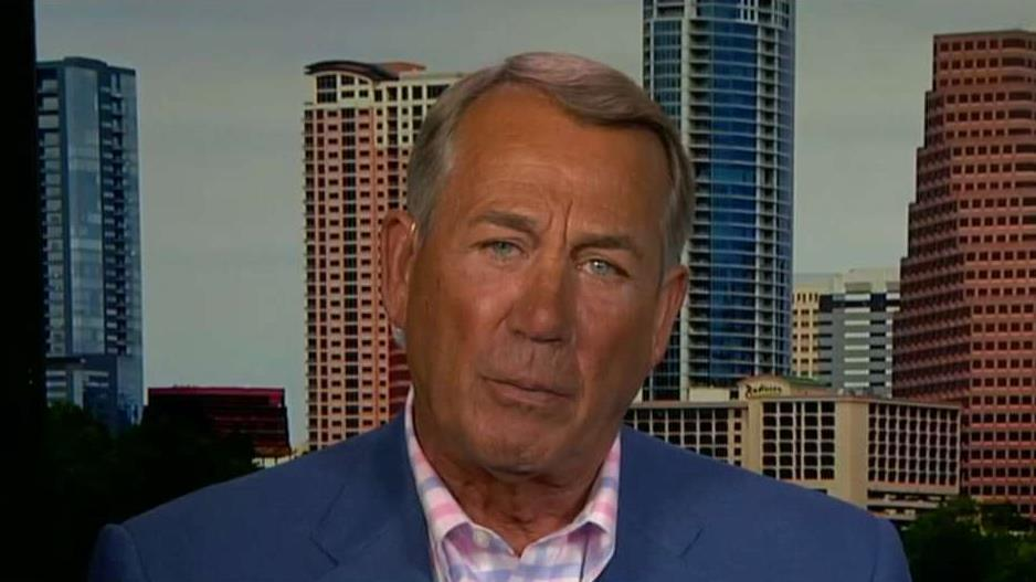 Former Speaker of the House John Boehner, R-Ohio, on the increasingly partisan politics in Washington, D.C., the mounting deficit, the 2020 presidential race and the outlook for the cannabis industry.