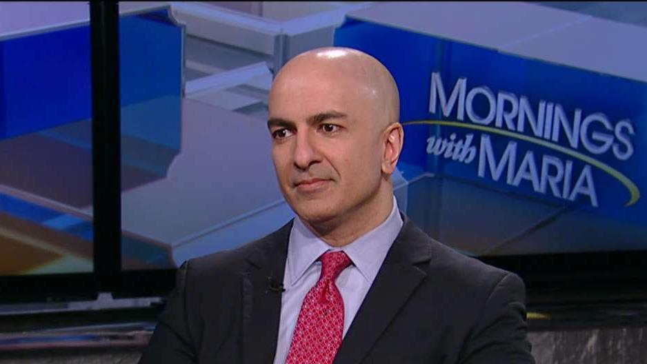 Minneapolis Federal Reserve President Neel Kashkari on the U.S. economic outlook and Federal Reserve policy.