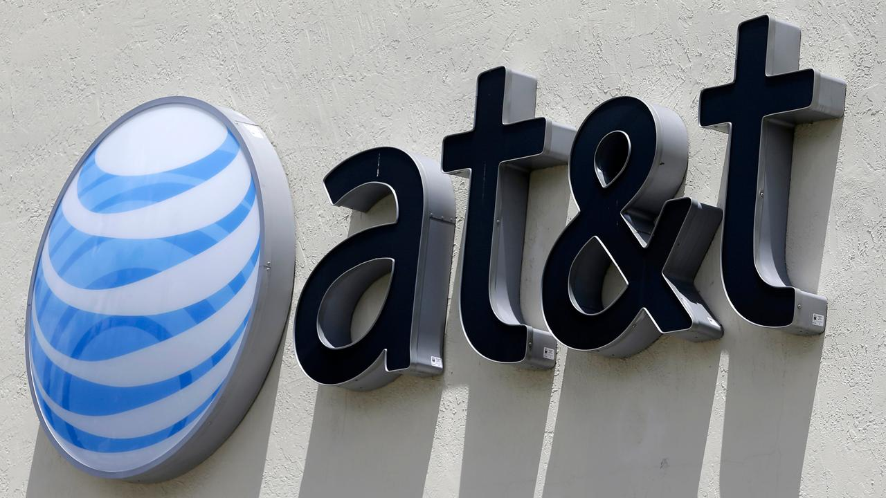 FBN's Charlie Gasparino reports that DOJ antitrust chief Makan Delrahim is blaming the lower court for the DOJ's failure to block AT&T's acquisition of Time Warner. Gasparino also discussed AT&T CEO Randall Stephenson's comments about the telecom industry.