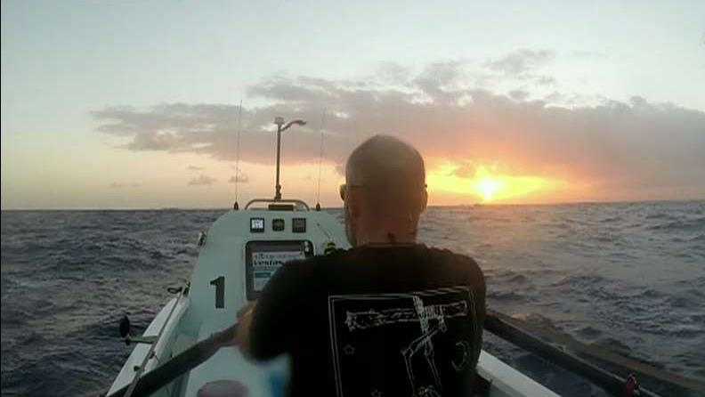 Tim Crockett, HX Global Inc., on rowing across the Atlantic Ocean in an effort to bring awareness to the suicide epidemic among veterans.