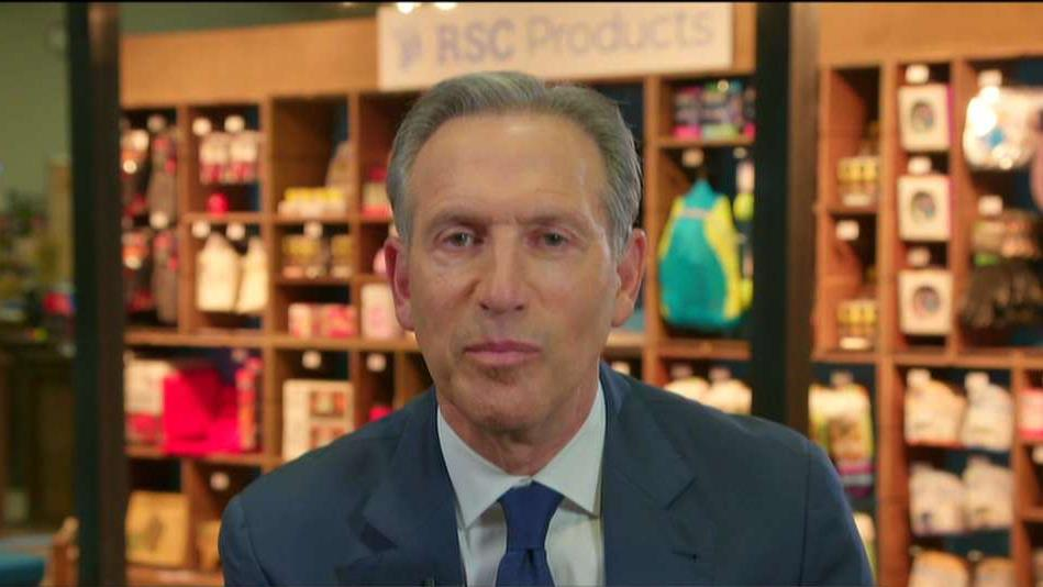 Former Starbucks CEO Howard Schultz on his potential 2020 presidential bid, the political fallout from the Mueller report, the Green New Deal, health care, the mounting U.S. debt and immigration reform.