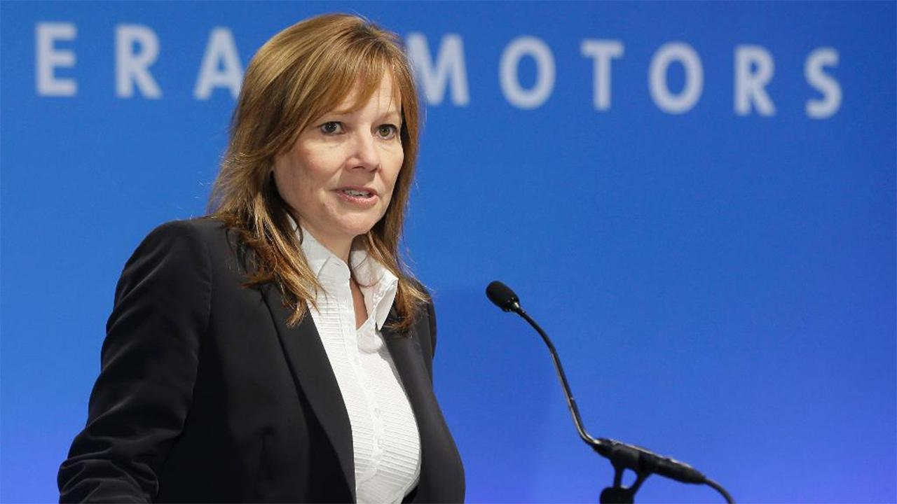 General Motors CEO Mary Barra on the automaker's plans to build an electric vehicle plant at a plant in Orion, Michigan, President Trump's criticisms of the company's decision to close a plant in Lordstown, Ohio and the company's commitment to jobs in America.