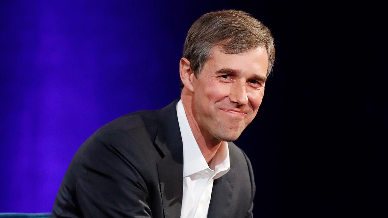"FoxNews.com columnist Liz Peek, Capitalist Pig Hedge Fund's Jonathan Hoenig, FBN's Kristina Partsinevelos and Layfield Report CEO John Layfield discuss how Texas Democrat Beto O'Rourke called America's capitalist economy ""unjust and racist."""