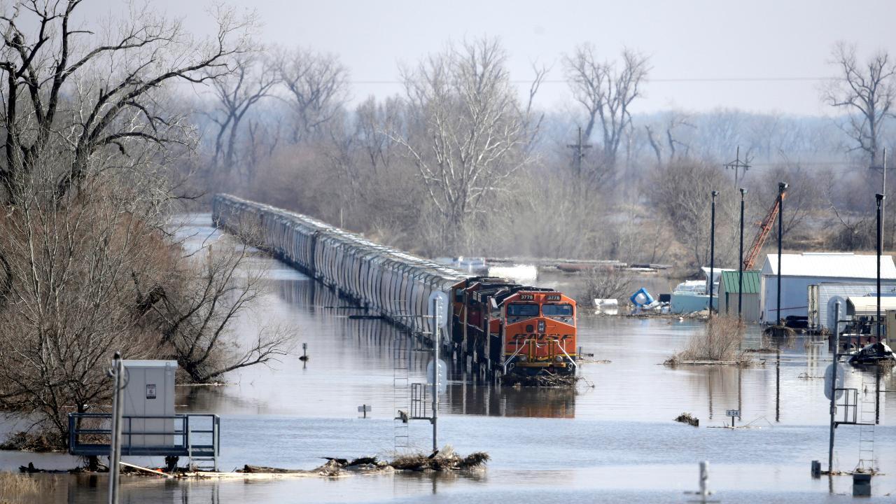 Nebraska Farm Bureau President Steve Nelson on the impact of the recent floods in Nebraska on the farms in the state.