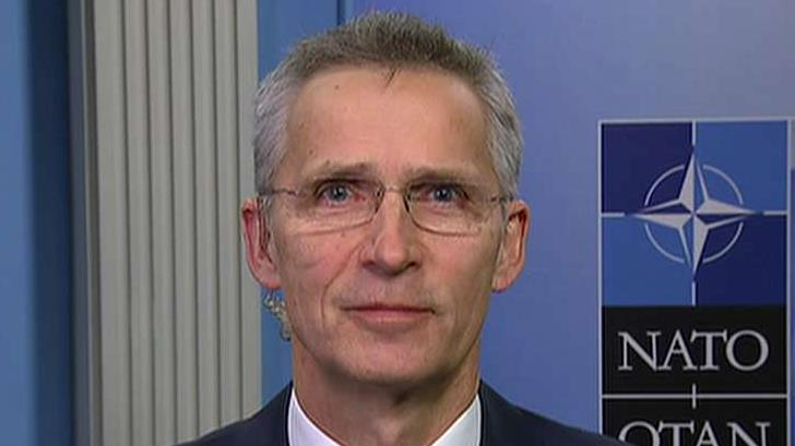 NATO Secretary General Jens Stoltenberg, in an exclusive interview on FOX Business, discussed his address to Congress, his meeting with President Trump, China's emerging economy and military and Russia.