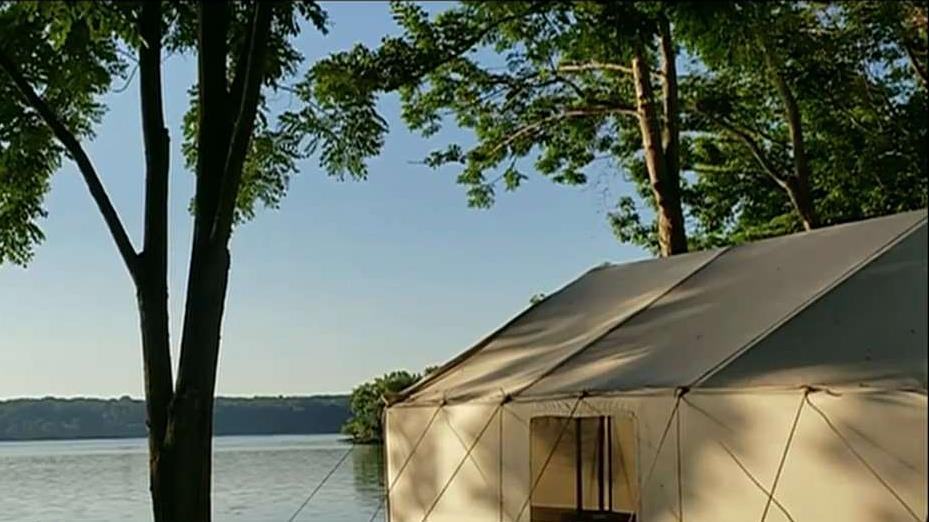 Terra Glamping CEO Rebecca Martin on the growing trend of 'glamping,' or glamorous camping.