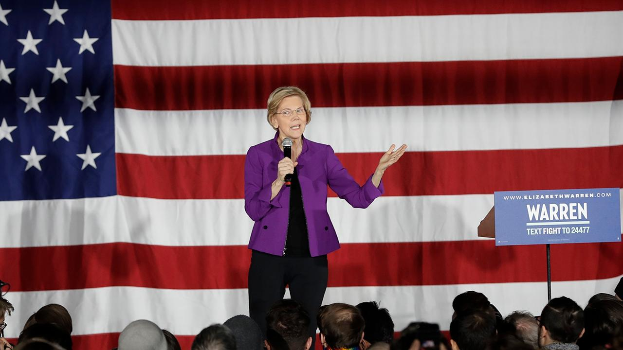 Elizabeth Warren unveils bill to cancel student loan debt for millions