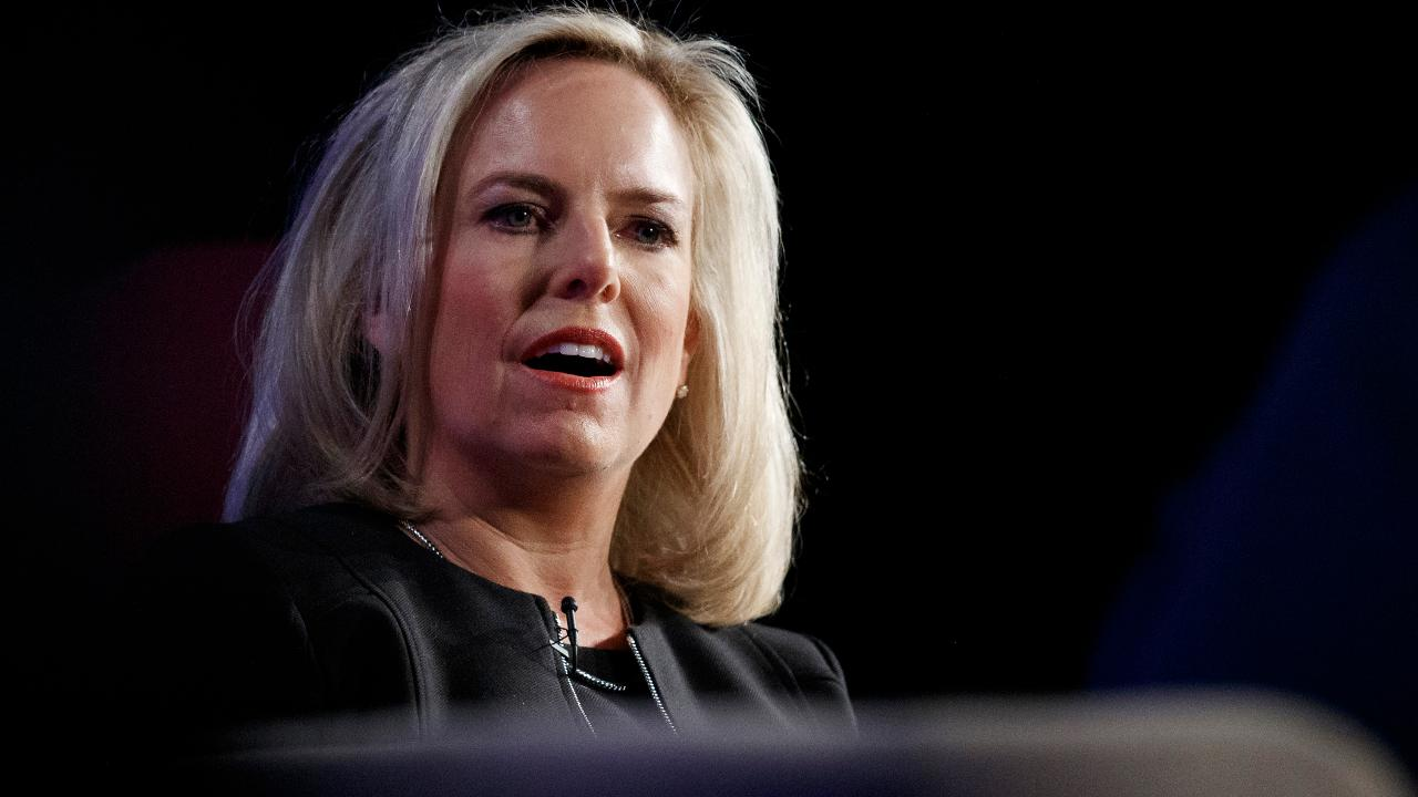 President Trump announced Sunday that Homeland Security Secretary Kirstjen Nielsen is leaving her post. Fox News senior judicial analyst Judge Andrew Napolitano with more. He also provided insight into the Motel 6 ICE lawsuit, the Mueller report latest and CVS-Aetna merger.