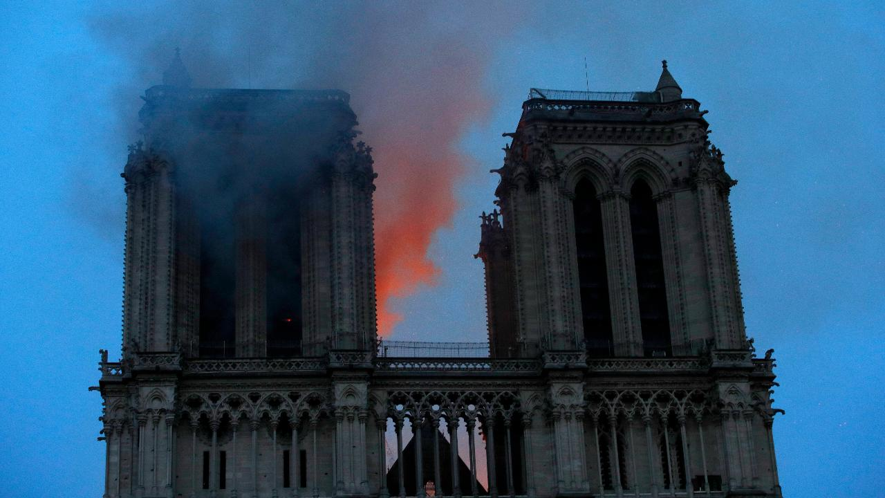French historian Troy Feay on the fire at Notre Dame Cathedral in Paris and concerns over the fate of some relics at the site.
