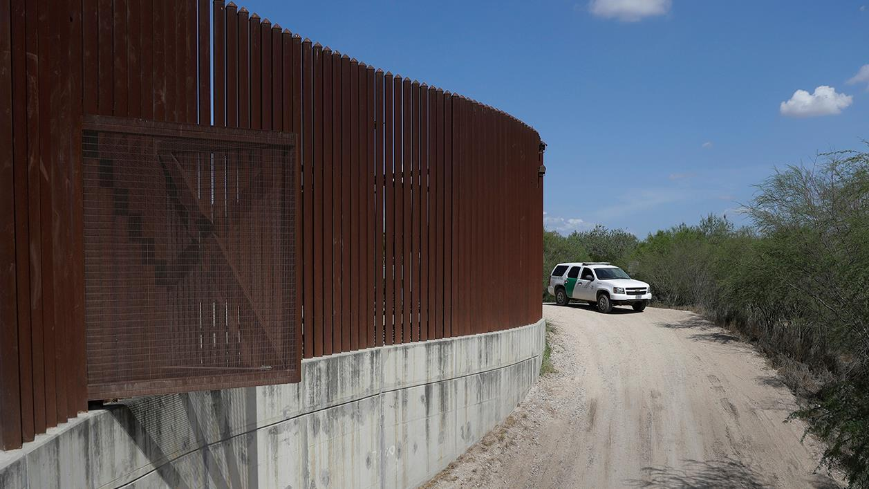 Rep. Louie Gohmert (R-Texas) discusses the latest equipment used by the Texas border patrol agents.
