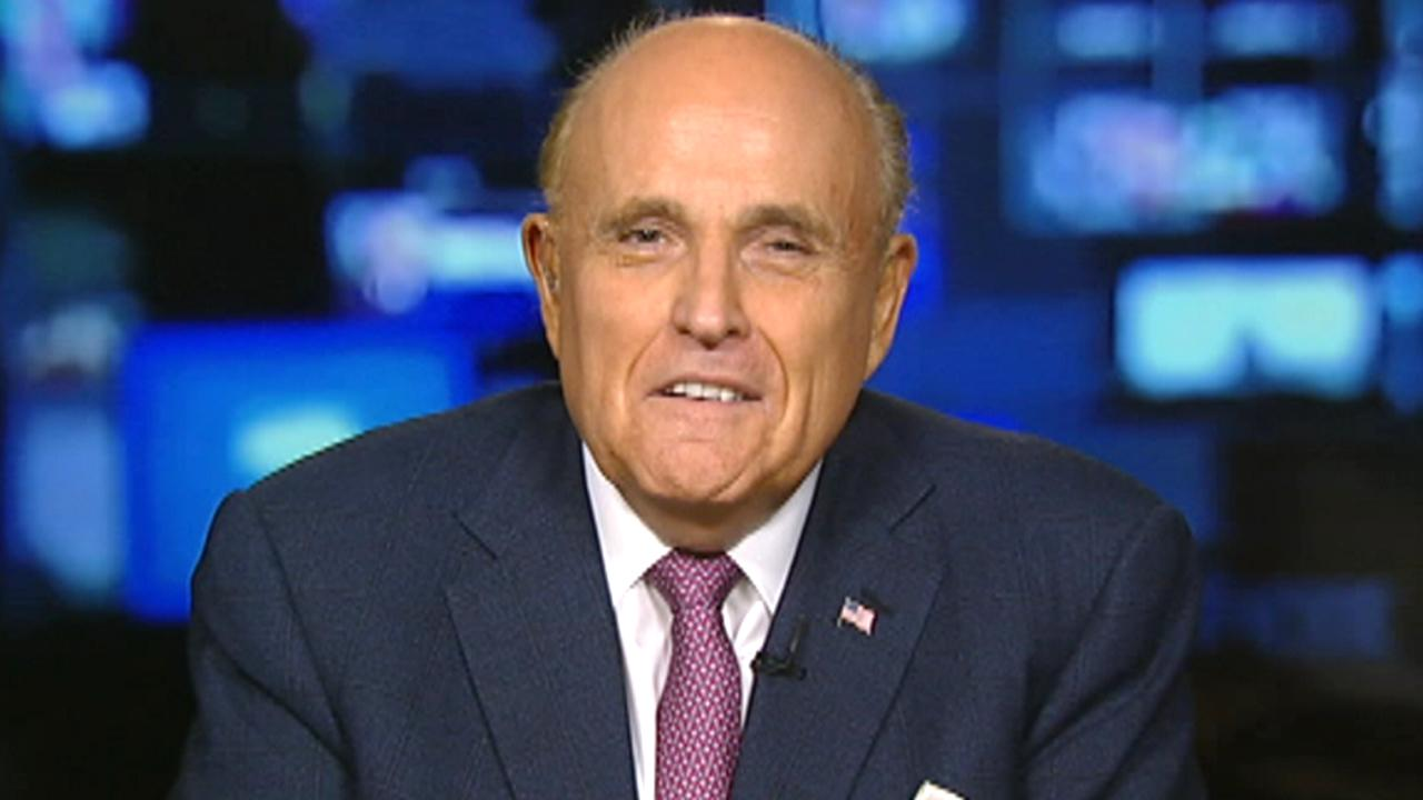 Rudy Giuliani 'very happy' with Mueller report: It's a 'clear victory' for President Trump