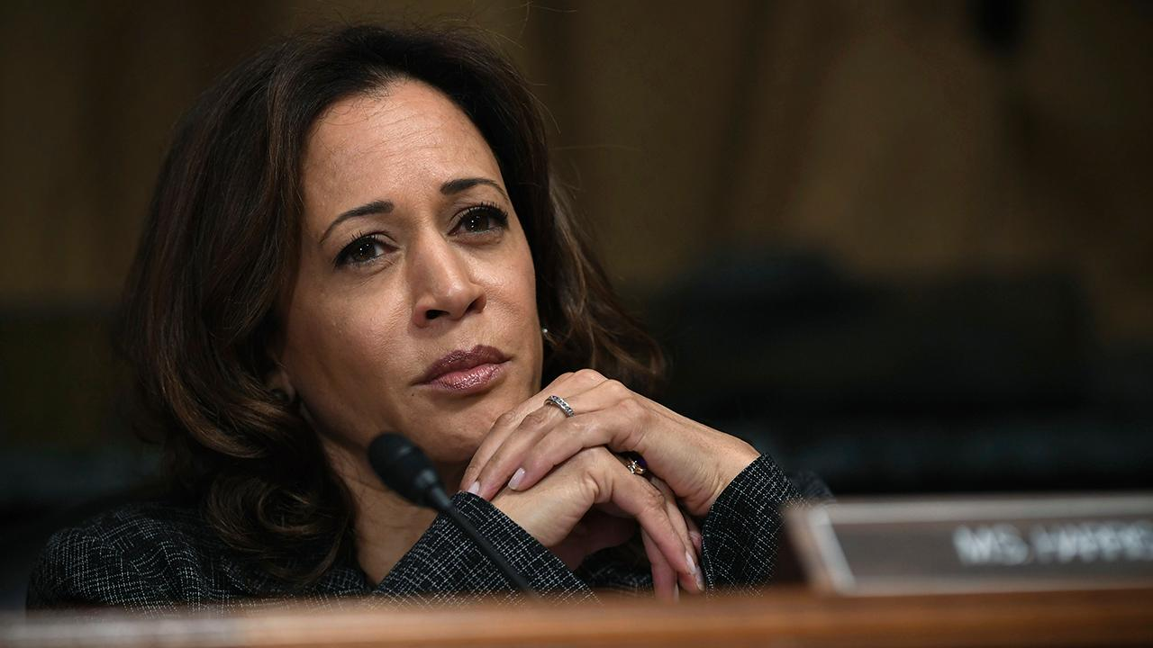 """The Hill"" contributor Kristin Tate and Dewey Square Group principal Mary Anne Marsh discuss how Sen. Kamala Harris (D-Calif.) is calling for a federal ban on ""right-to-work"" laws."