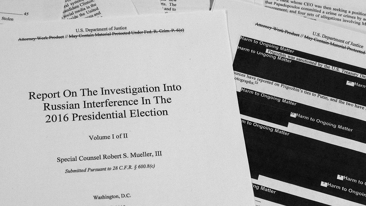 Read the Robert Mueller report