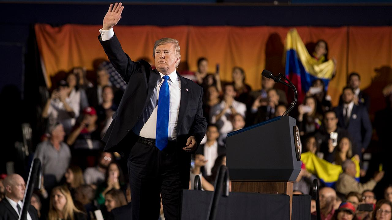 Hispanic approval for Trump at 50%: Poll
