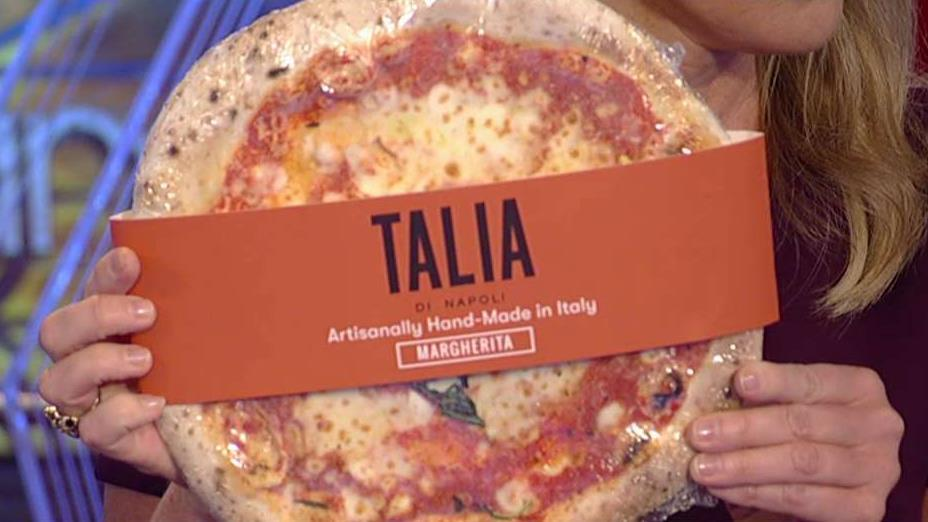 Talia Di Napoli CEO Edouardo Freda has developed its own patented process that allows the pizza made in Italy to be shipped to U.S. customers.
