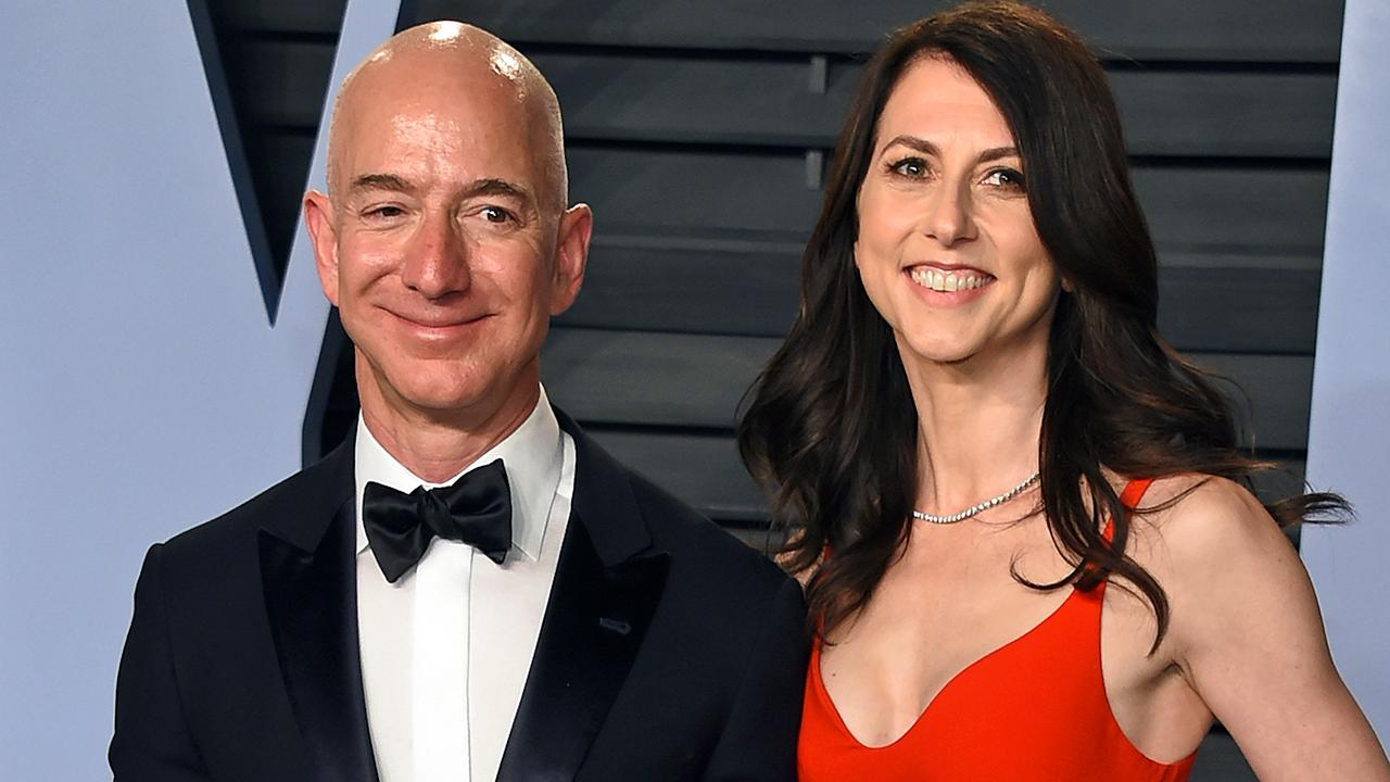 Morning Business Outlook: Jeff Bezos and his wife Mackenzie agree to divorce settlement that divides their shares of Amazon stock; Dunkin' and Harpoon Brewery are reuniting for a limited-edition, coffee-inspired beer.