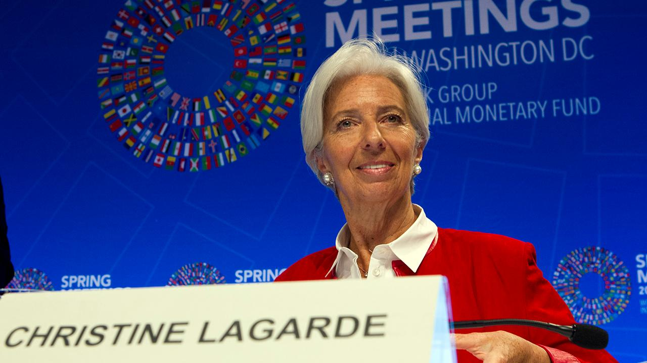 IMF Managing Director Christine Lagarde discusses how protectionist trade policies affect global growth and voices her concerns about the U.S.-EU trade relationship.