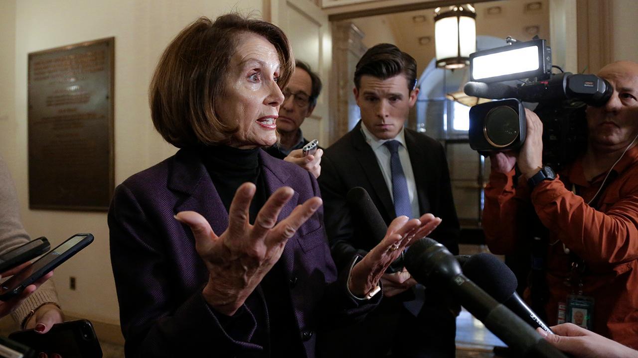FBN's Stuart Varney takes aim at House Speaker Nancy Pelosi and Rep. Maxine Waters (D-Calif.).