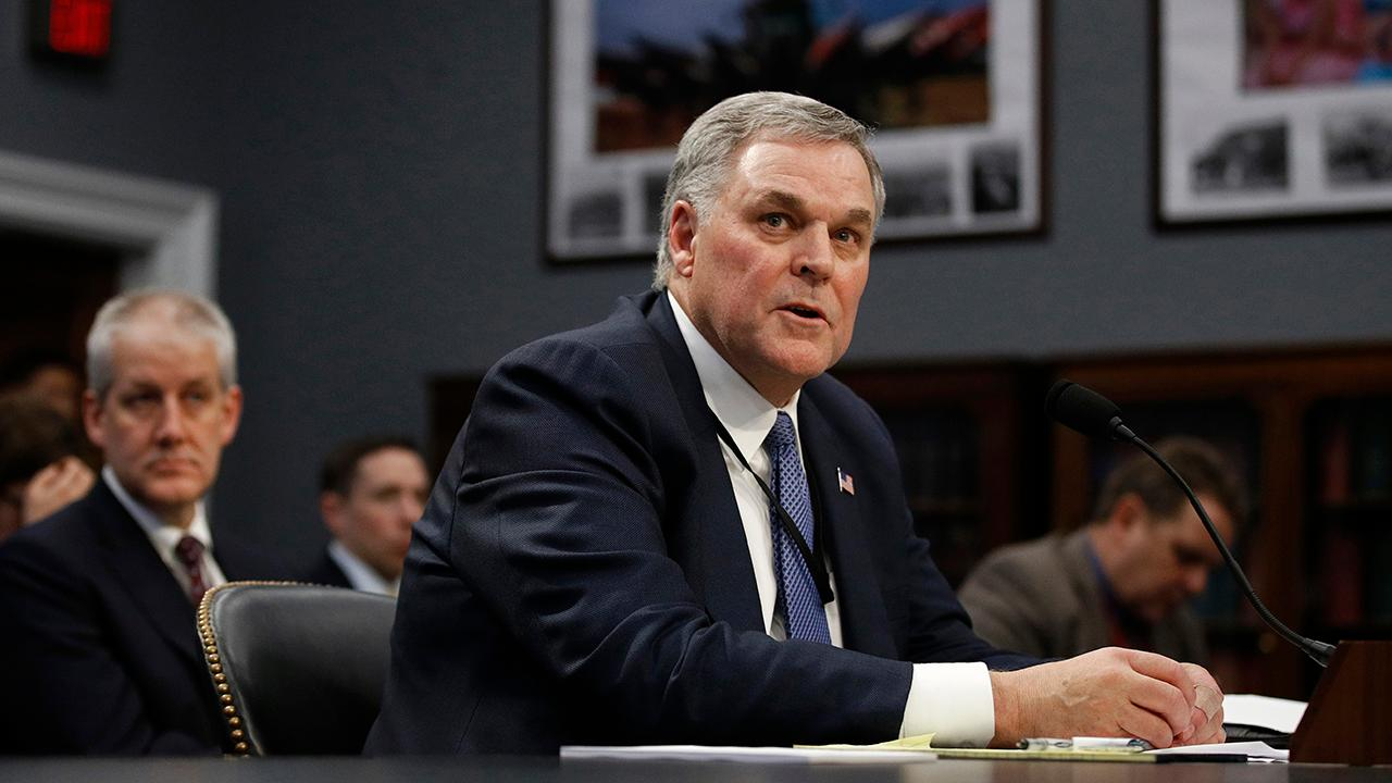 IRS Commissioner Charles Rettig says that about 45 percent of the IRS workforce is eligible to retire within the next two years.