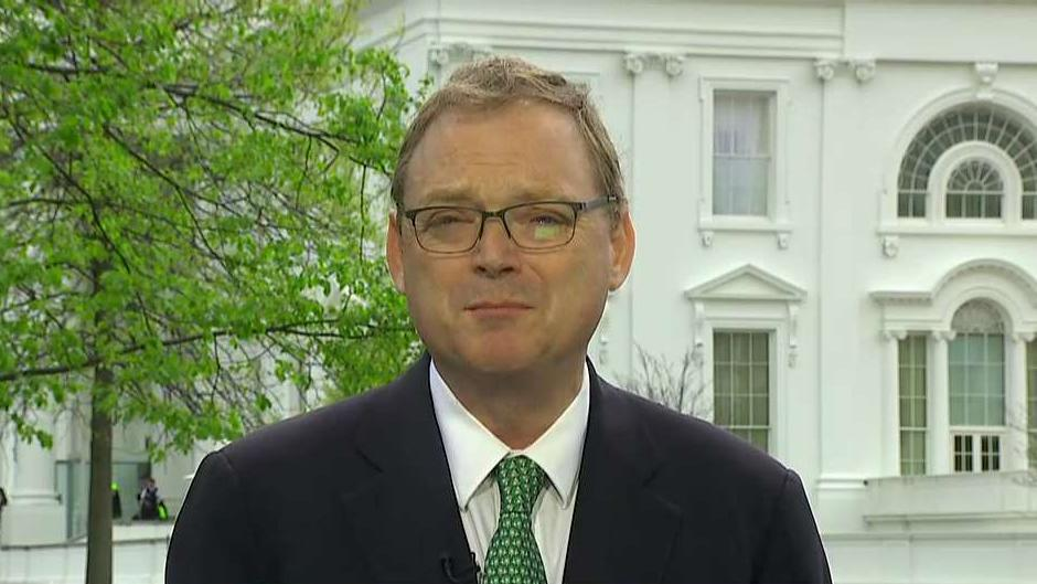 Council of Economic Advisers Chairman Kevin Hassett on concerns by U.S. CFOs over a potential recession, the Federal Reserve, the future of USMCA and concerns of potential gridlock in Washington, D.C.