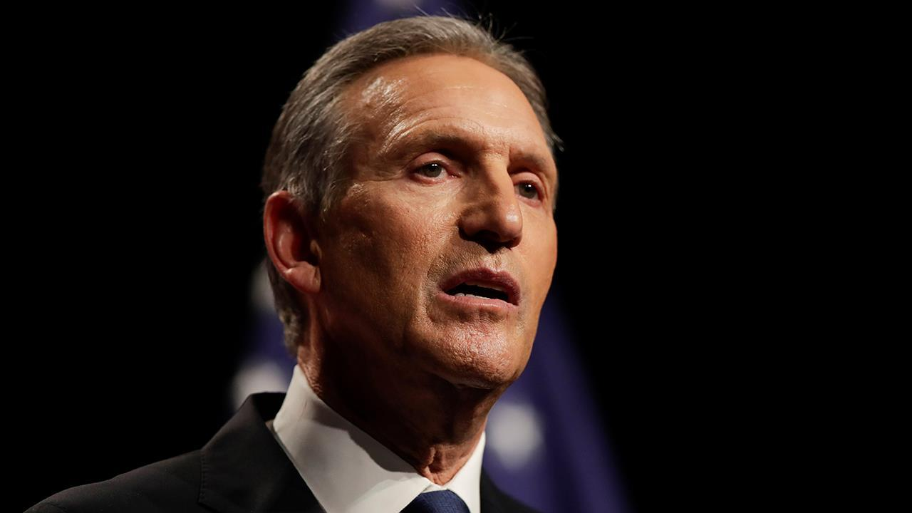 Former Starbucks CEO Howard Schultz tells FOX Business' Trish Regan that the Democratic Party he once knew is now gone.