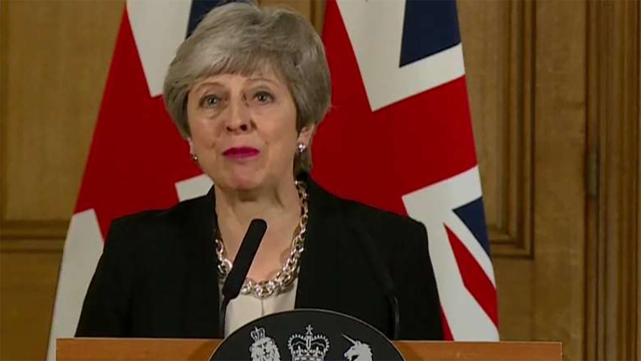 ترزا May در Brexit: ترک یک قرارداد بهترین راه حل است