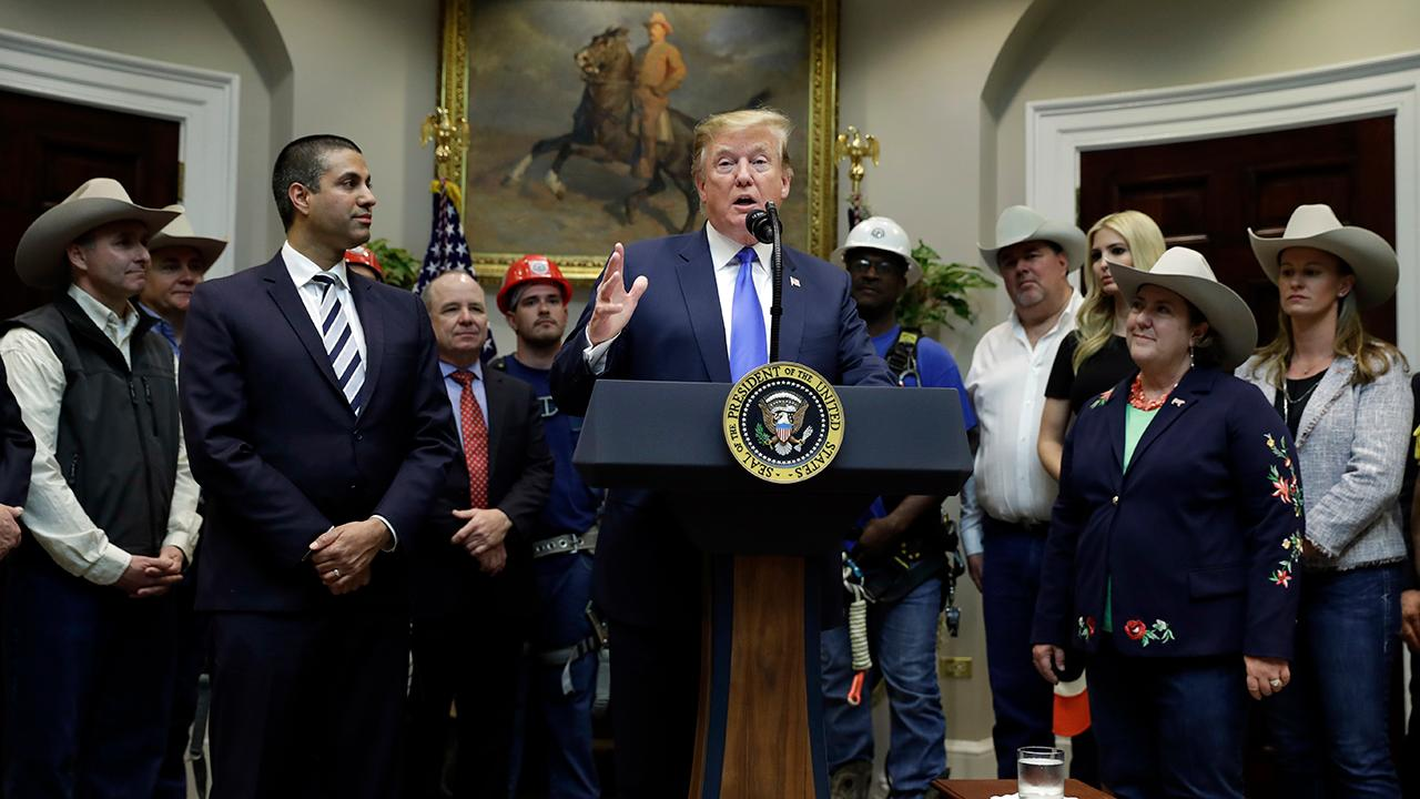 President Trump says secure 5G networks will be a vital link to America's prosperity and national security.