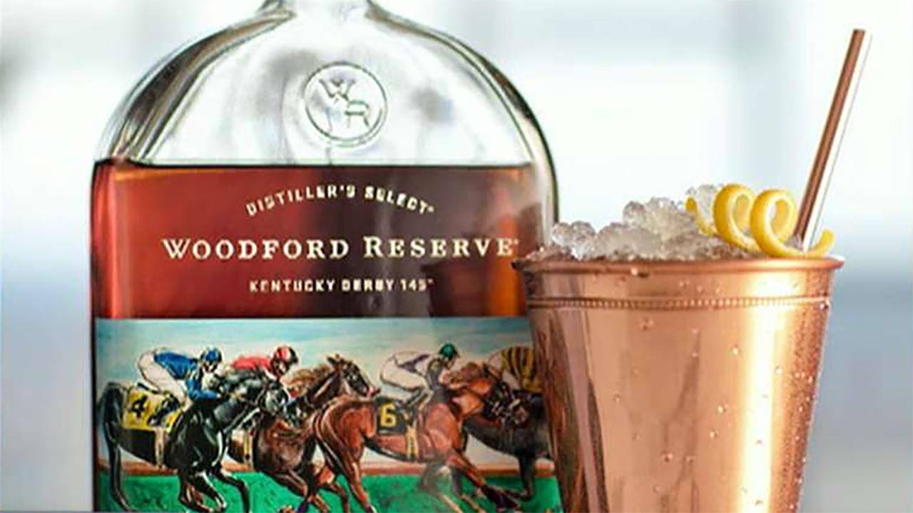 Woodford Reserve Master Distiller Chris Morris and 2019 Derby Bottle artist Keith Anderson on being the official bourbon of the Kentucky Derby.