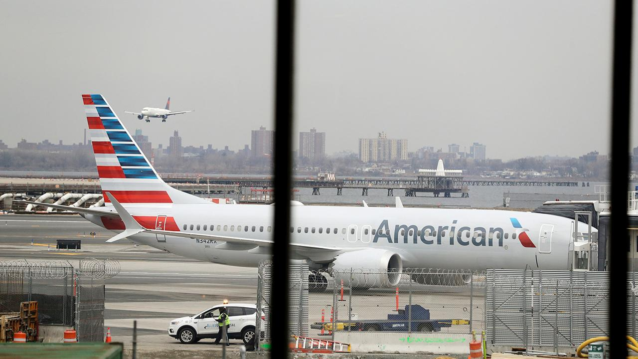 Fox Business Briefs: American Airlines extending cancellations of Boeing 737 Max flights through August 19; Coca-Cola producing bottles shaped like droids exclusively for 'Star Wars: Galaxy's Edge' attractions at Disney Parks.
