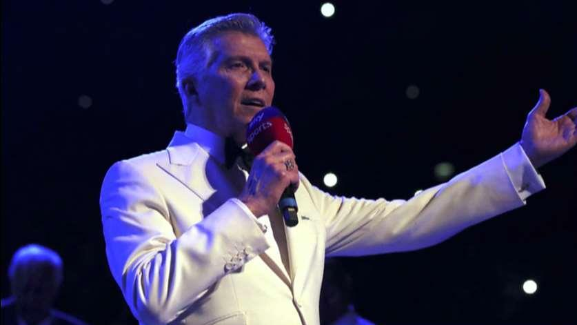 Legendary ring announcer Michael Buffer on how he came up with his popular catchphrase he uses at the beginning of boxing matches.