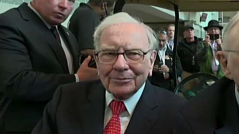FBN's Liz Claman on Berkshire Hathaway CEO Warren Buffett's take on trade and the U.S. economy and speculation over the company's succession plan.