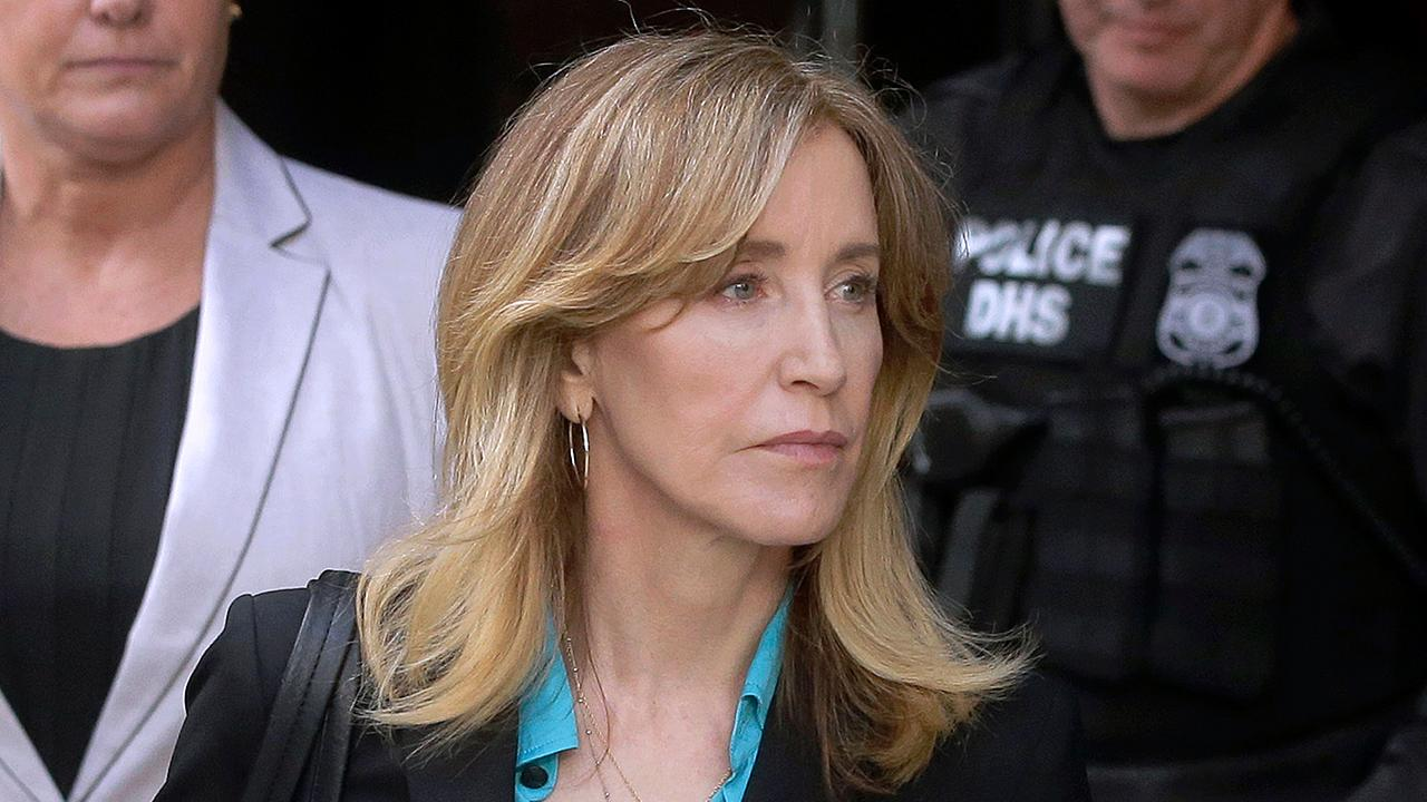 Fox News' Molly Line reports that actress Felicity Huffman pleaded guilty in the college admissions scandal, admitting that she paid a fixer thousands of dollars to get her daughter's answers on the SAT corrected.