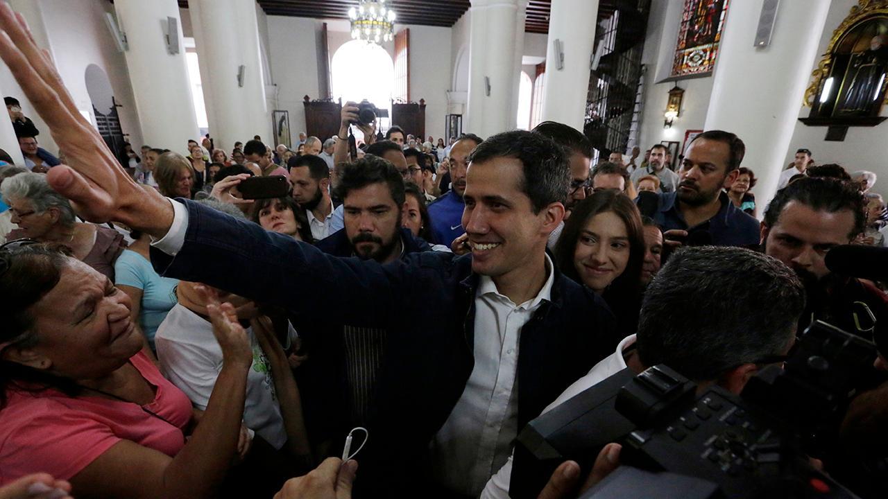 FOX Business' Trish Regan interviews Venezuelan opposition leader Juan Guaidó about the humanitarian crisis in Venezuela.