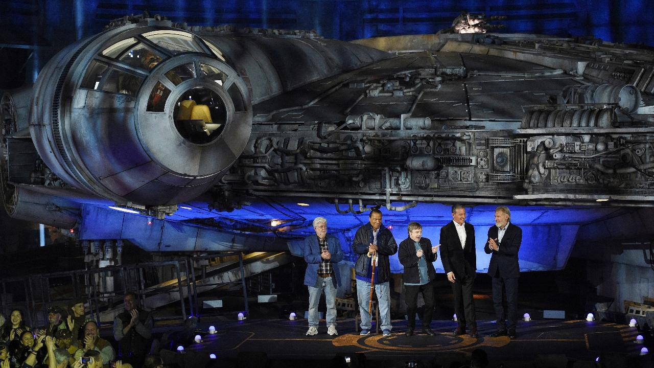 Disney CEO Bob Iger on the high expectations for the new 'Star Wars: Galaxy's Edge' park.