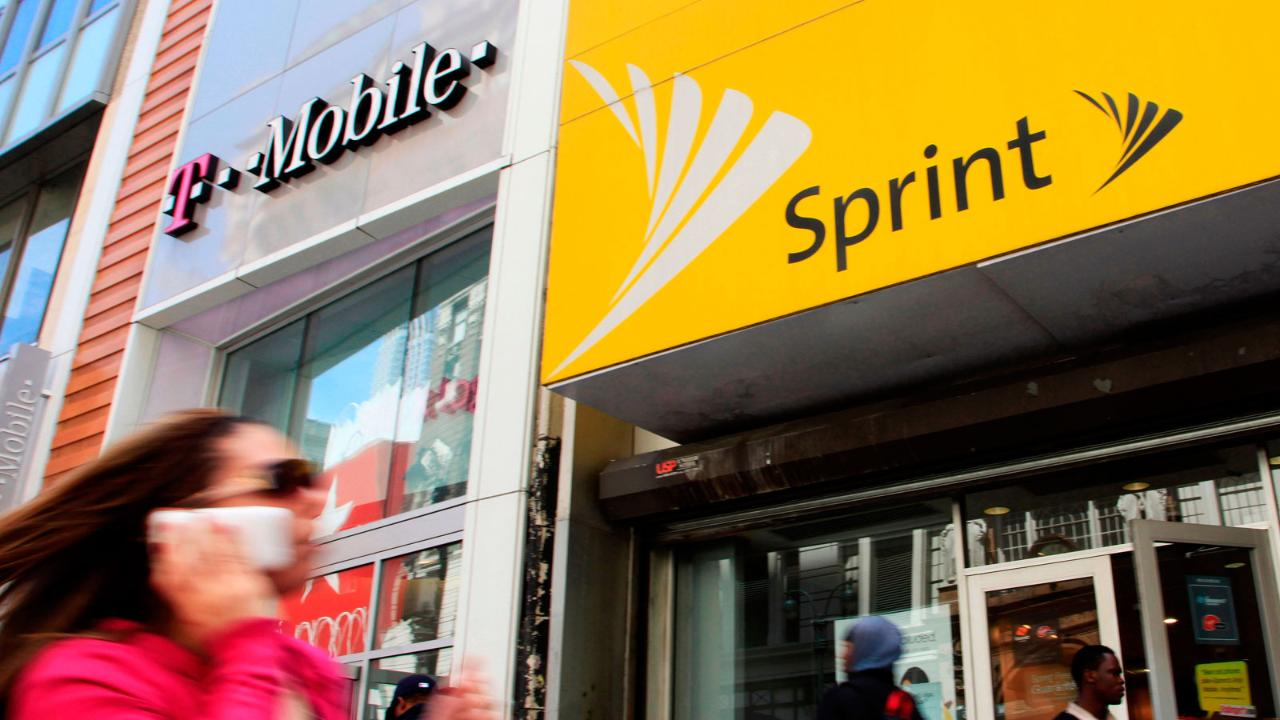 FBN's Charlie Gasparino with the latest on efforts to get approval for the T-Mobile-Sprint merger.