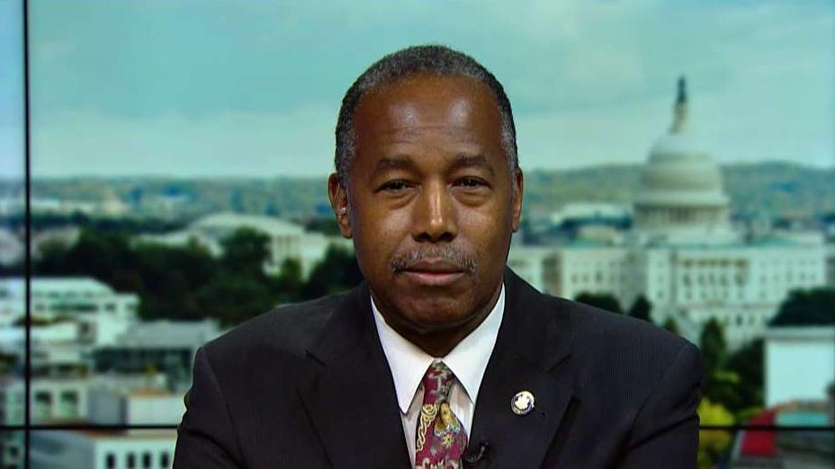 Housing and Urban Development Secretary Ben Carson on his testimony on Capitol Hill and defends the plan to remove illegal immigrants from government-subsidized housing.