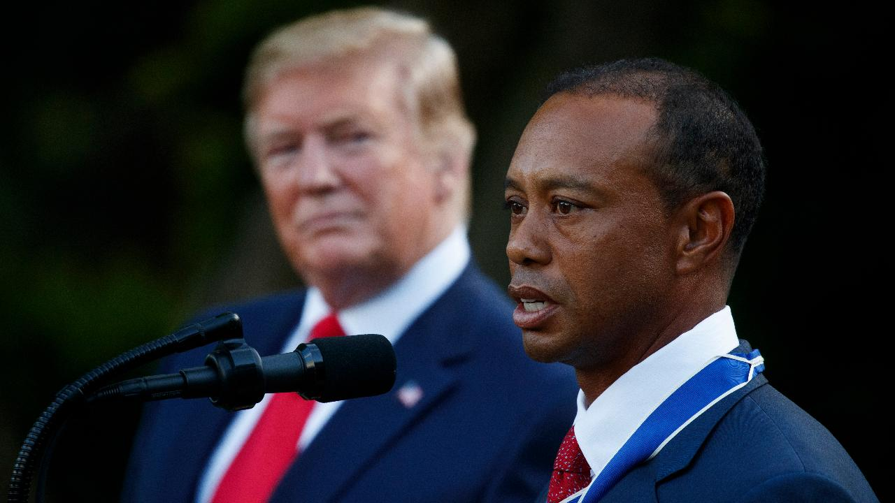 Golf legend Greg Norman on Tiger Woods' 2019 Masters win, President Trump awarding Woods the Presidential Medal of Freedom and why he became an ambassador for Delta Private Jets.