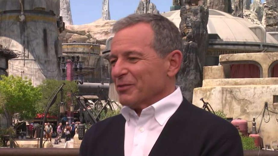 Disney CEO Bob Iger on balancing the company's more traditional businesses and new growth opportunities such as streaming with Disney Plus.