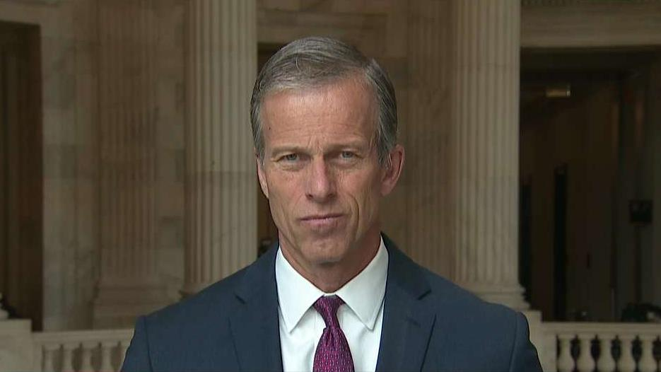 Sen. John Thune, R-S.D., on U.S. trade negotiations with China and efforts to take on robocalls.
