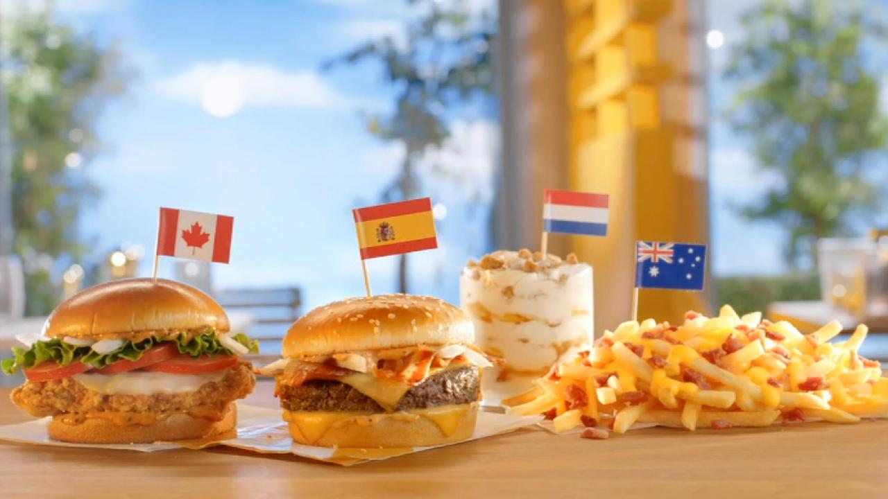 Morning Business Outlook: McDonald's is welcoming four international items to the menu in the United States; lawmakers and major retailers working to get cigarettes and e-cigarettes out of the hands of America's youth.
