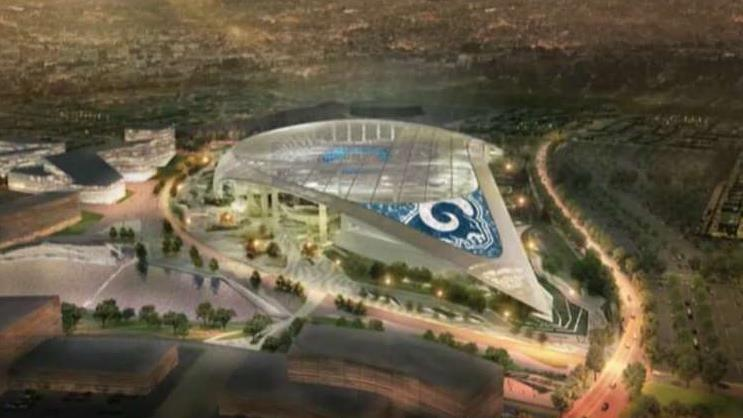 FBN's Charlie Gasparino on reports financial tech company SoFi is in talks with the NFL for the naming rights to the new Los Angeles stadium.