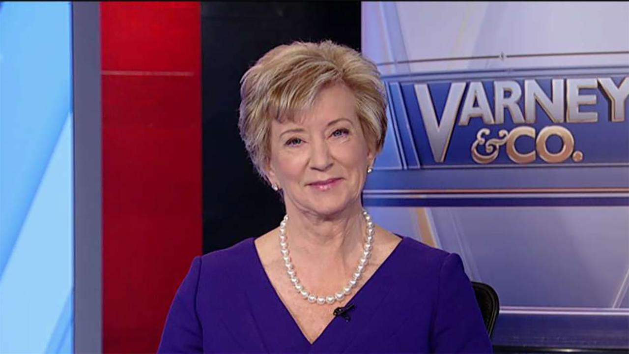 Former Small Business Administration Administrator Linda McMahon on the state of the job market, U.S. economic growth and reflects on her experiences heading the SBA.
