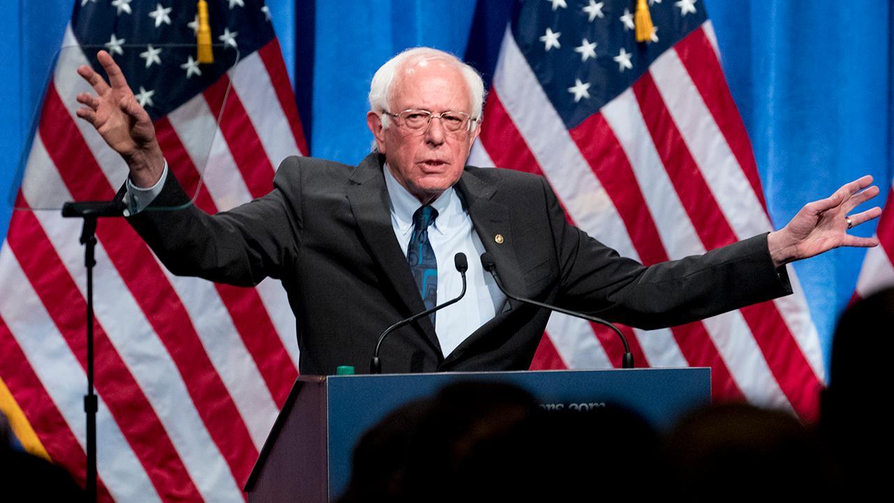 Former California congressman Darrell Issa (R) takes aim at Sen. Bernie Sanders' (I-Vt.) socialist policies.