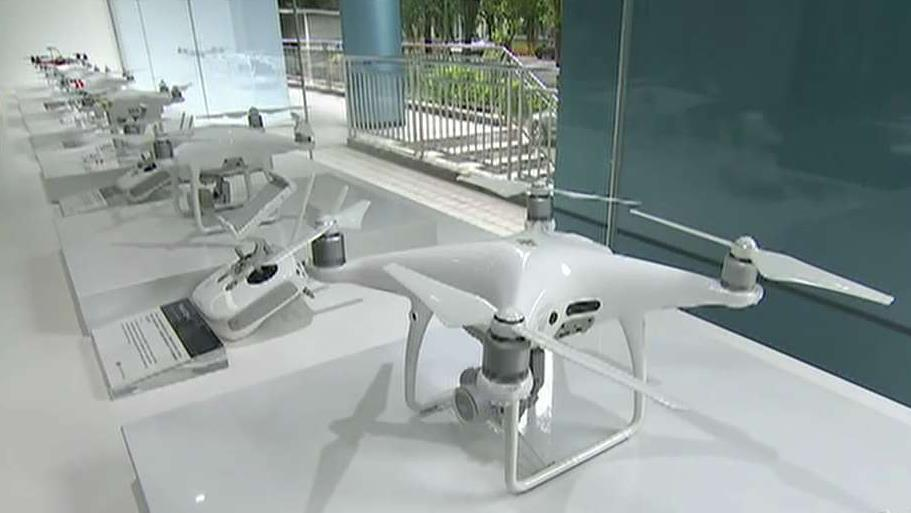 FOX Business' Connell McShane talks to DJI senior product manager Paul Pan about the company's drone technology.