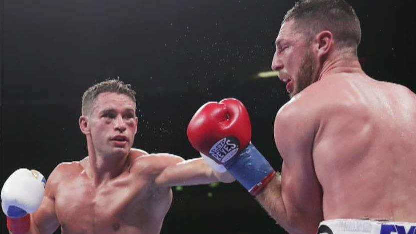Boxer Chris Algieri on his boxing career, the debate over the use of CBD and marijuana by athletes.
