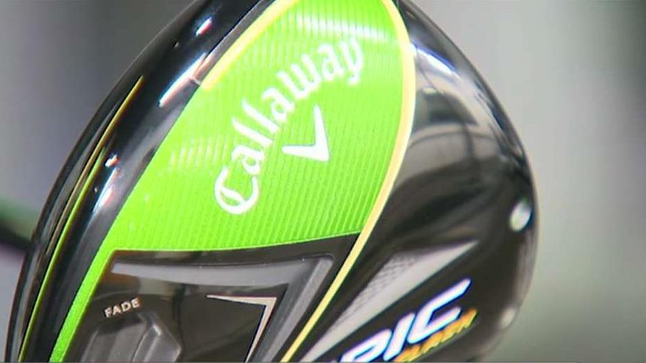 FBN's Robert Gray on Callaway's investment into artificial intelligence to design its latest clubs.