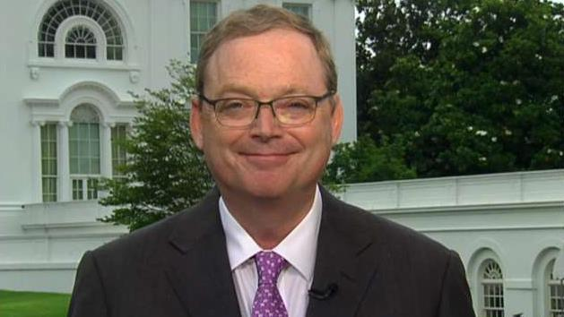 Council of Economic Advisers Chairman Kevin Hassett on the May jobs report, concerns over the impact of potential tariffs on Mexico and suggestions of former Reagan economist Art Laffer as his potential replacement.