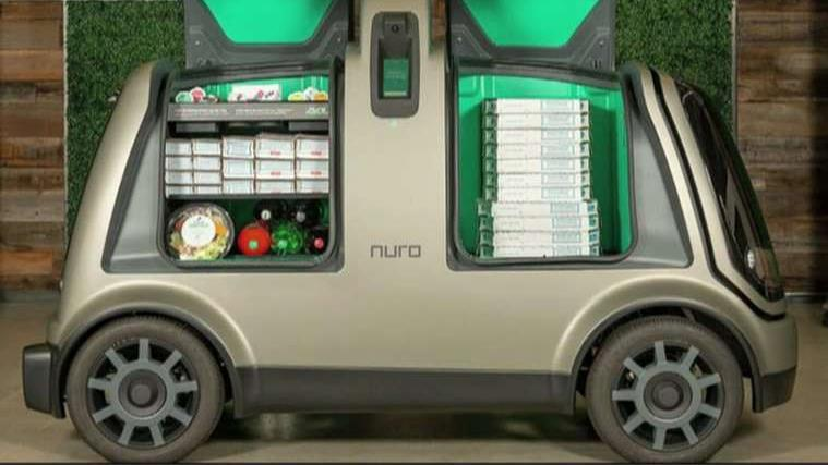 Nuro President Dave Ferguson on the company testing out autonomous pizza delivery in Houston, Texas.