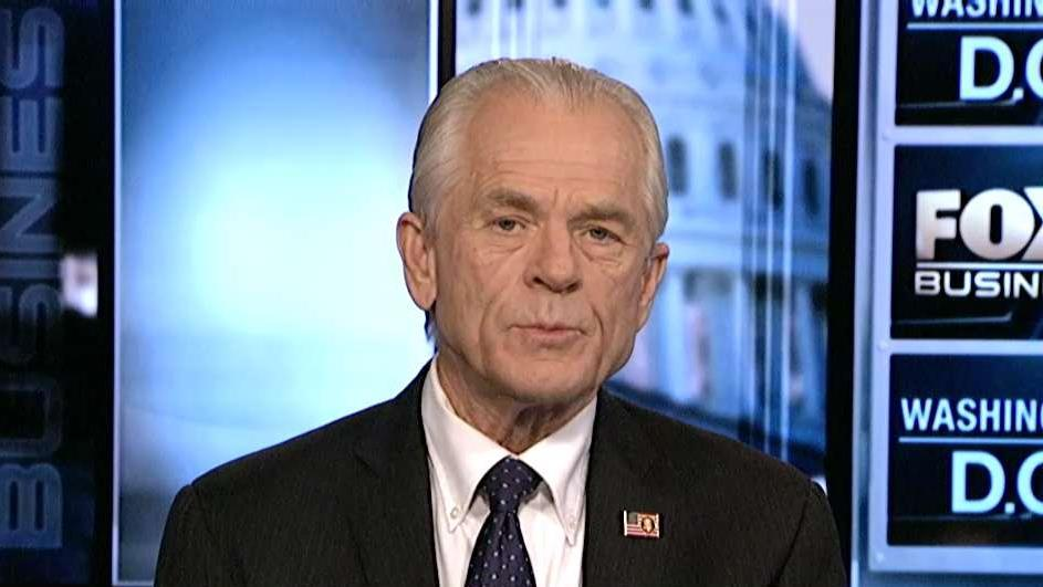 Peter Navarro, assistant to President Trump, on the Trump administration's trade negotiations with China.