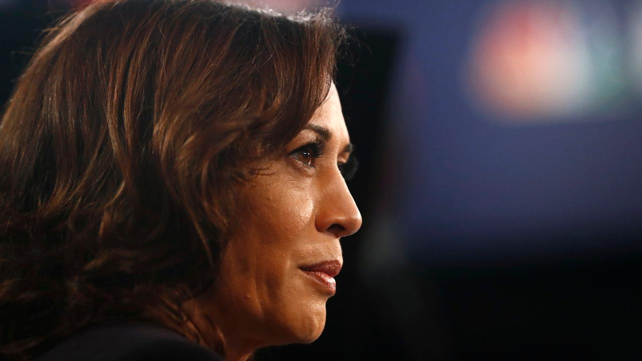 Democratic presidential candidate Kamala Harris on the Trump administration and campaigning against former Vice President Joe Biden.
